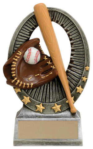 """Ovation"" Baseball Trophy"