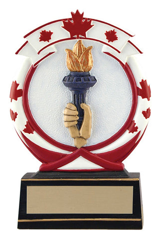 """Maple Leaf Victory"" Distinctive Trophy"
