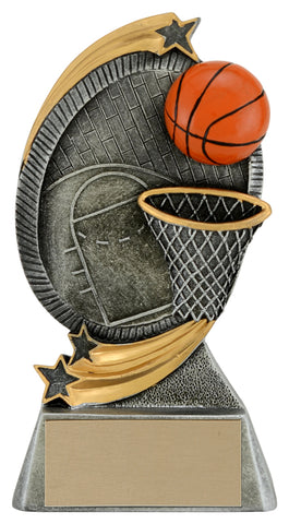 """Cyclone"" Basketball Trophy"