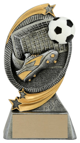 """Cyclone"" Soccer Trophy"