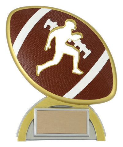 """Silhouette"" Football Trophy"