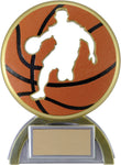"""Silhouette"" Basketball Trophy"