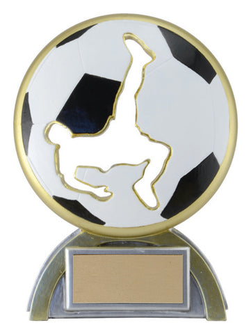 """Silhouette"" Soccer Trophy"