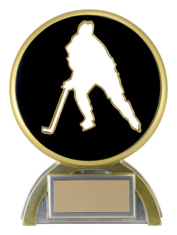 """Silhouette"" Hockey Trophy"
