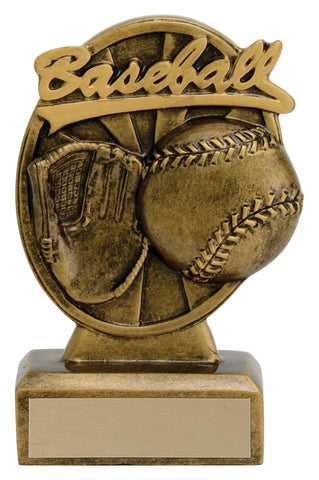 """Signature"" Baseball Trophy"