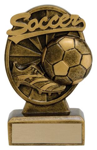 """Signature"" Soccer Trophy"