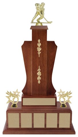 """Castlefield"" Annual Award with Walnut Finish"