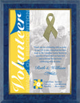 """Awareness Ribbon"" Laminate Plaque"