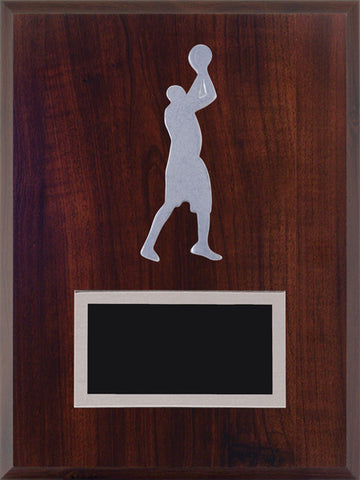 """Basketball"" Laminate Plaque"