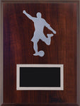 """Soccer"" Laminate Plaque"