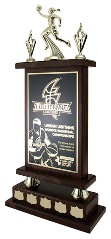"""Citadel Cherrywood"" Laminate Annual Trophy"