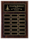"""Grooved"" Laminate Annual Plaque - Medium Plates"