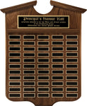 """Grant Annual Shield"" Genuine Walnut Plaque"