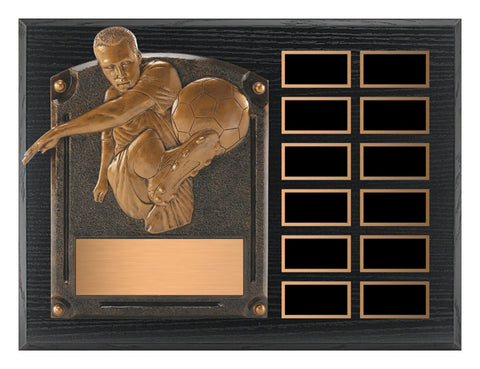 """Legends of Fame Annual"" Men's and Women's Plaque"