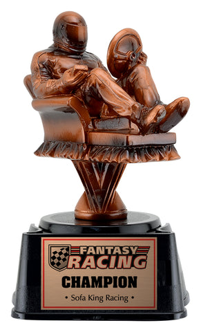 """Fantasy Racing"" Distinctive Trophy"