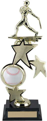 """Spinning Sport Baseball"" Riser Achievement Award"