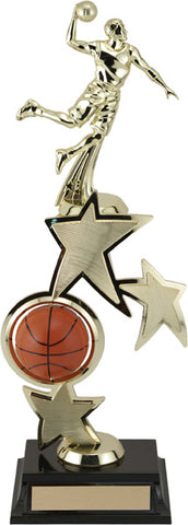 """Spinning Sport Basketball"" Riser Achievement Award"