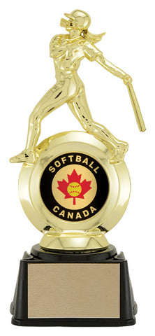 """Softball"" Women's First Choice 2"" Holder Trophy"