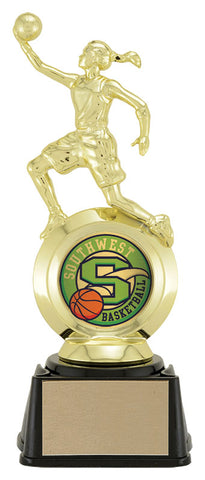 """Basketball"" Women's First Choice 2"" Holder Trophy"