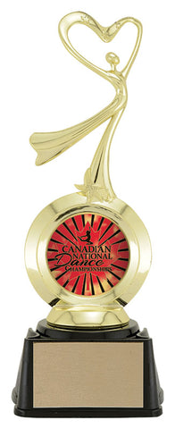"""Modern Dance"" First Choice 2"" Holder Trophy"