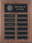 """Veneer"" Genuine Walnut Annual Plaque"