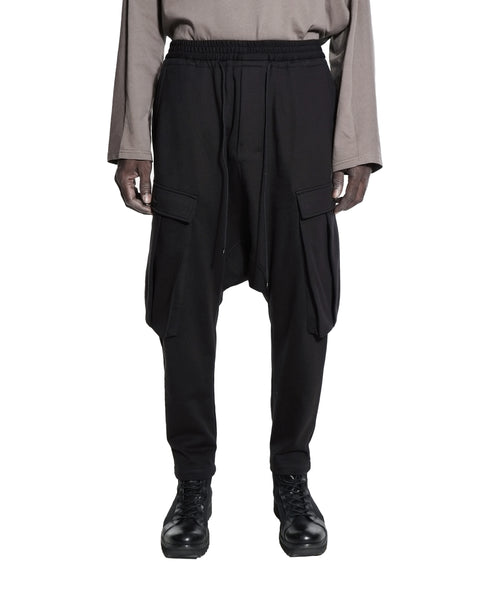 POCKETED PANTS BLACK
