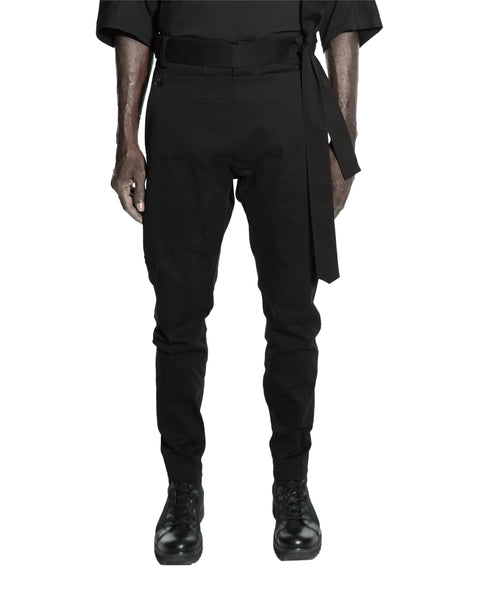 CHAMPA SLIM PANTS BLACK