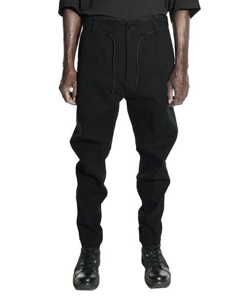 HEAT TECH J CUT TROUSERS BLACK