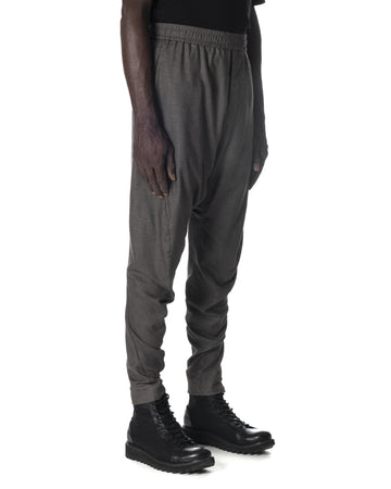 J CUT TROUSERS LIGHT GREY
