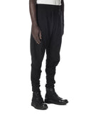 J CUT TROUSERS BLACK