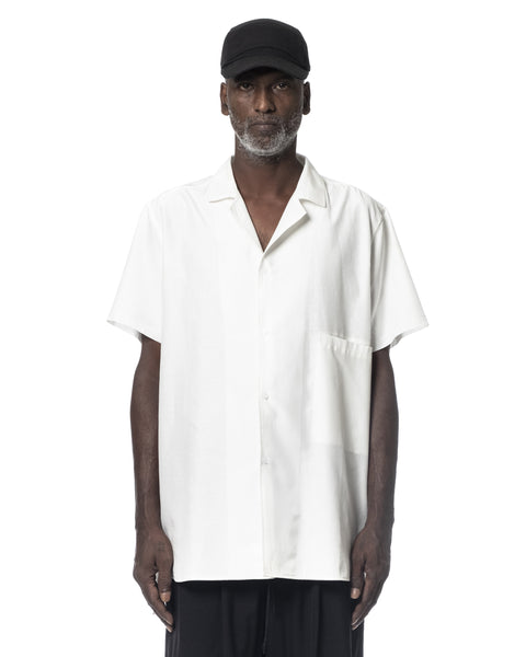 SHORT SLEEVED SHIRT OFF WHITE