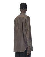 DOUBLE LAYERED SHIRT BROWN