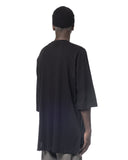 POCKETED LONG T-SHIRT BLACK