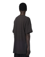ROLL-UP SLEEVES T-SHIRT DARK GREY