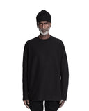 SCULPTED LONG SLEEVE T-SHIRT BLACK