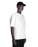 SCULPTED SHORT SLEEVE T-SHIRT OFF WHITE