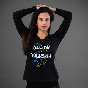 Allow yourself- Long sleeve shirt