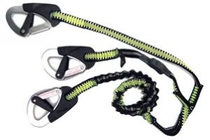SPINLOCK 3 CLIP ELASTICATED PERFORMANCE SAFETY LINE (2M) #SPDW-STR/03/C