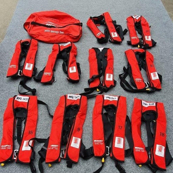 Life Jacket Burke (Used) #CRA-079 PACKAGE OF 10
