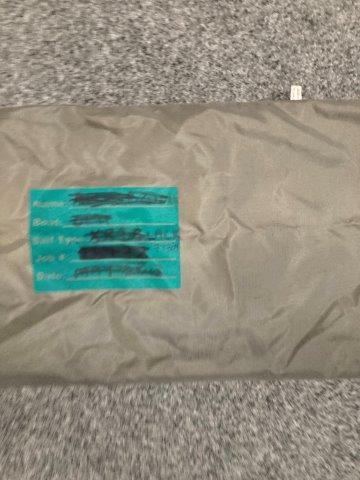Sausage Bag (Used)  2.05mtrs #BBC-013A