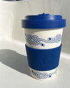 "Bamboo Travel Mug ""Nautical Knots"""