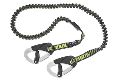 SPINLOCK 2 CLIP ELASTICATED PERFORMANCE SAFETY LINE (2M) #SPDW-STR/02E/C