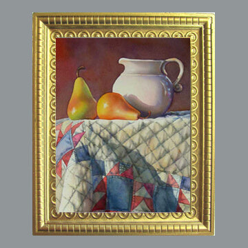 Fox - Pears, Pitcher and American Quilt