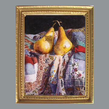 Krupinski - Pears and Quilt