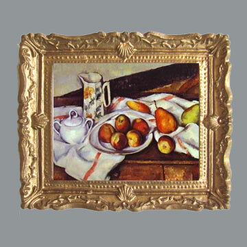 Cezanne - Peaches, Pears and Pottery