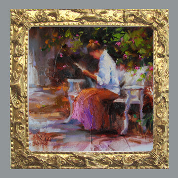 Frankie Johnson - The Courtyard Bench