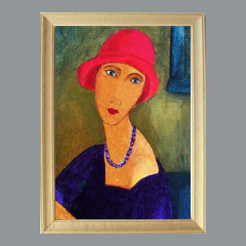In the Style of Modigliani