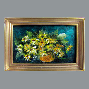 Moreland - Daisies in a Copper Pot
