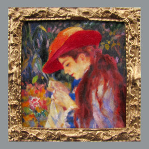 Graves - Renoir's Mademoiselle Marie Therese Durand-Rue Sewing