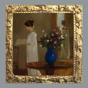 The Blue Vase - unknown artist